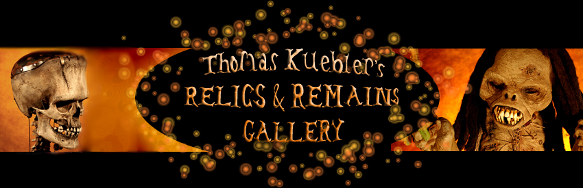 Relics and Remains - Thomas Kuebler - Hyperrealistic Sculptor